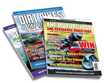 Dirt Bike and Motorcycle Magazine covers