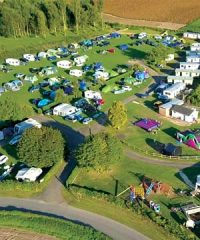 Rose & Crown with Caravans & Camping